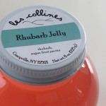 les collines flavors: rhubarb jelly