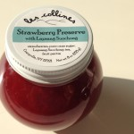 les collines flavors: strawberry preserve with Lapsang Suochong