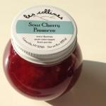 les collines flavors: sour cherry preserve