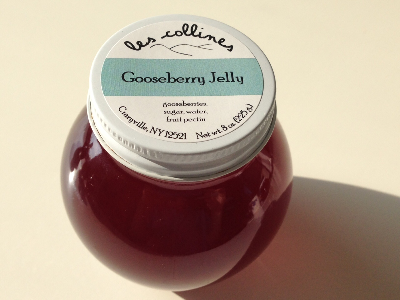 How to make gooseberry jelly. Mistress on the note 84